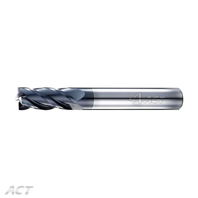 (4KES) 4 Fute 45° Square Endmill - HRC50-60