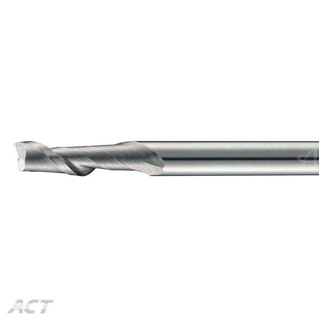 (1AET) Single Flute Helical Aluminum Endmill