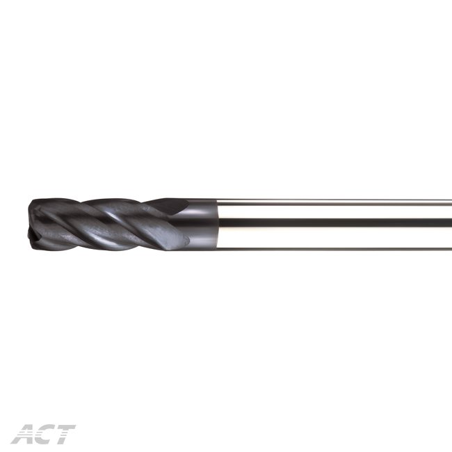 (A4NBC) 4 Flute Corner Radius