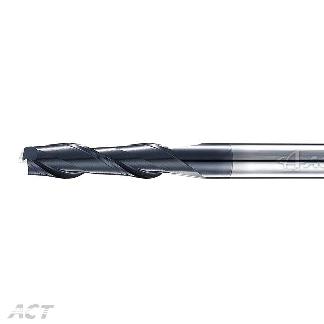 (2KEL) 2 Flute Long Flute Square Endmill - HRC50-60