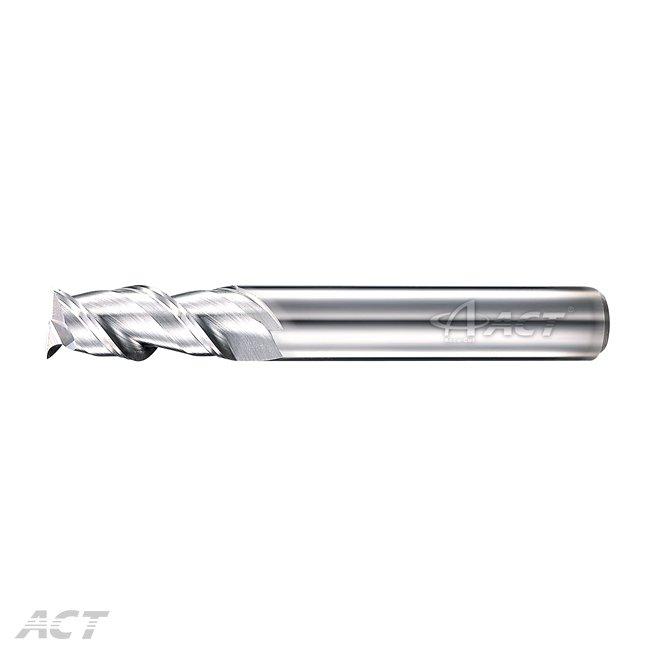 (2AES) 2 Flute Aluminum Square Endmill