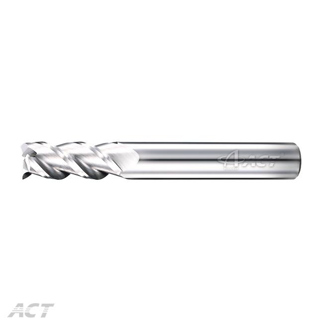 (3AES) 3 Flute Aluminum Square Endmill
