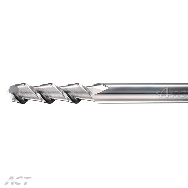 (I2AEL) Imperial - 2 Flute Aluminum Long Flute Square Endmill