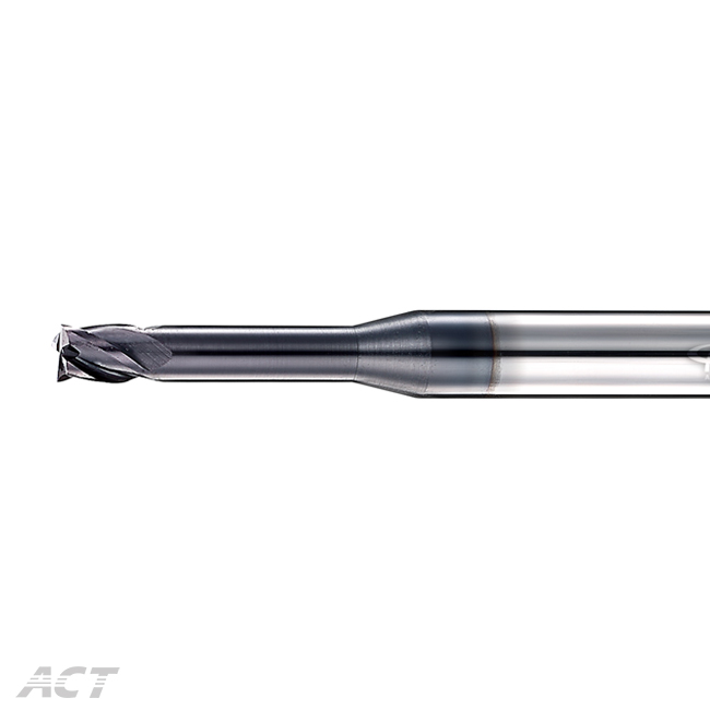(4KUE) 4 Flute Square Endmill  - For Deep Machining