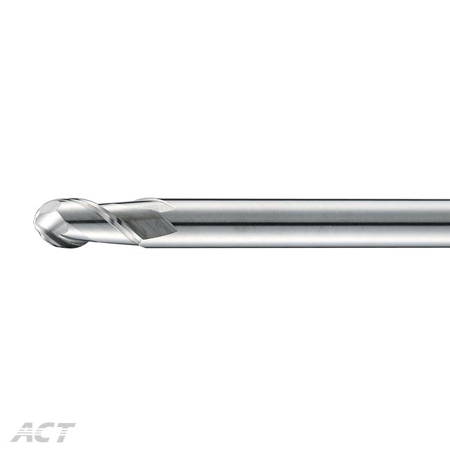 (R2ABL) 2刃鏡面長柄鋁用球刀