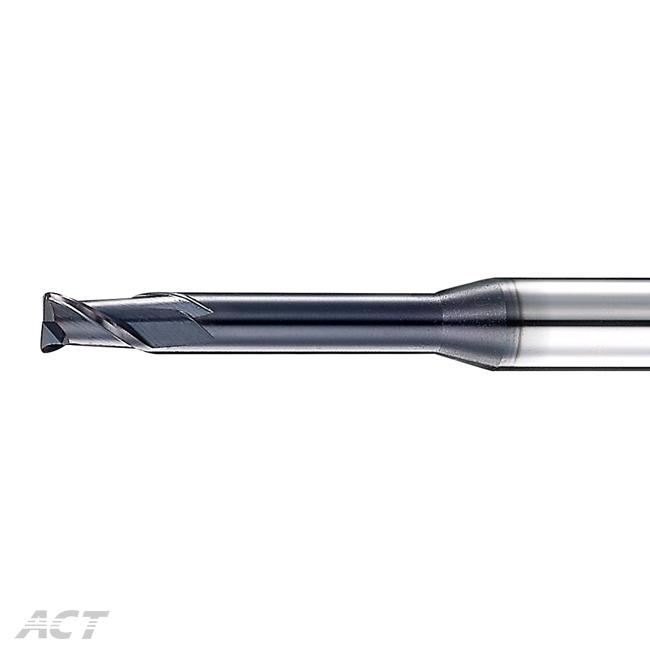 (S2SNUB) 2刃高硬度微小徑深溝圓鼻刀