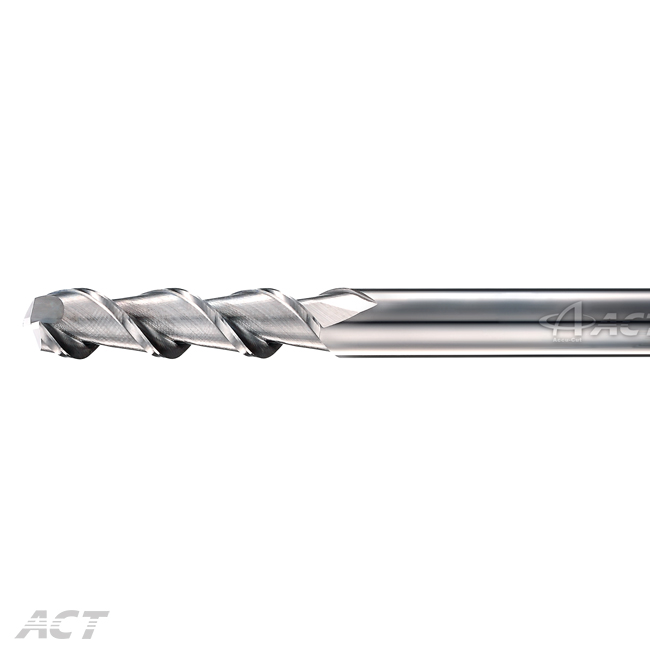 (I2AEL) 2刃長刃鋁用刀