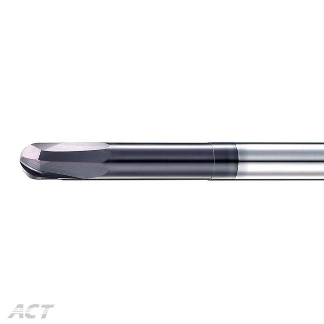 (2KOB) 4刃直刃球刀 - 底部加工專用