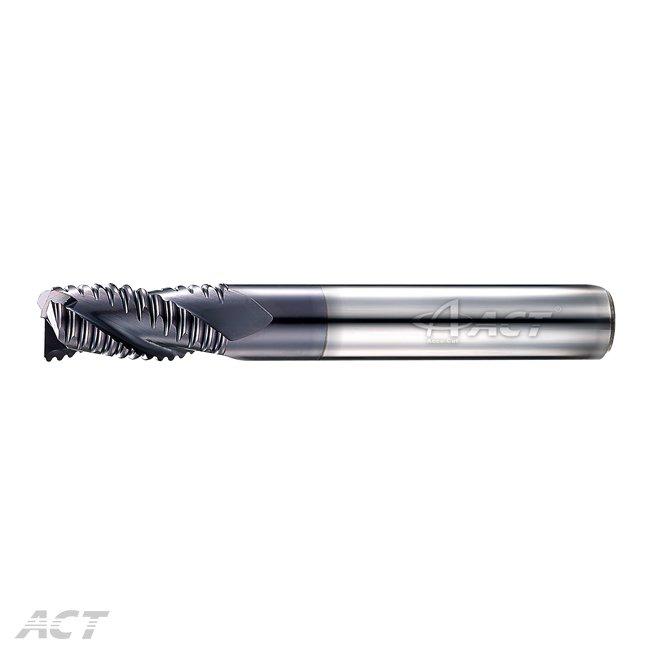 (3KERL) 3刃長柄粗銑刀 - 中齒