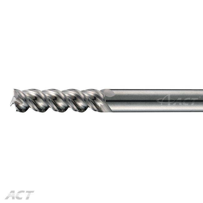 (R3AEL) R溝 - 3刃長刃鋁用銑刀
