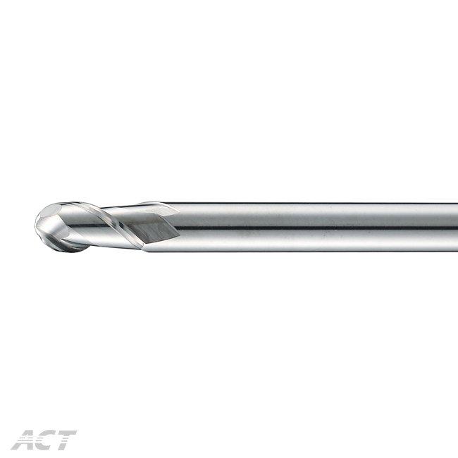 (R2ABS) R溝 - 2刃鏡面鋁用球刀