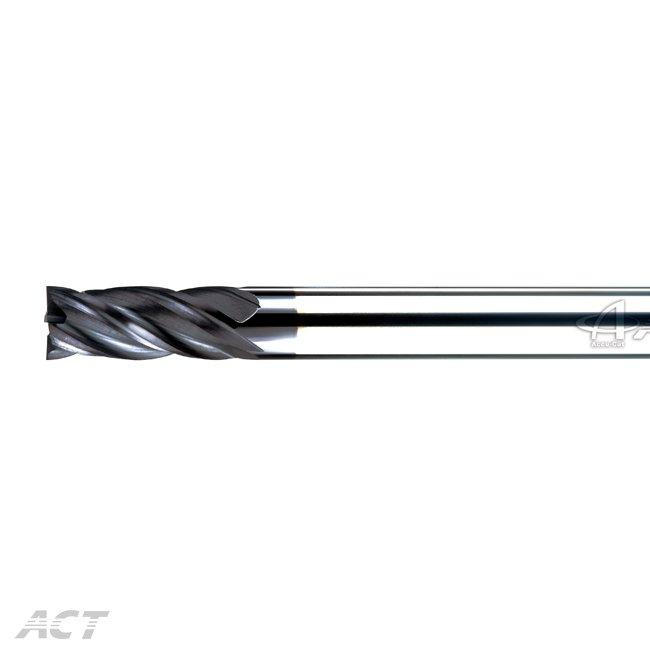 (S4KDE) 不等分 - 4刃高硬度長柄極速平刀