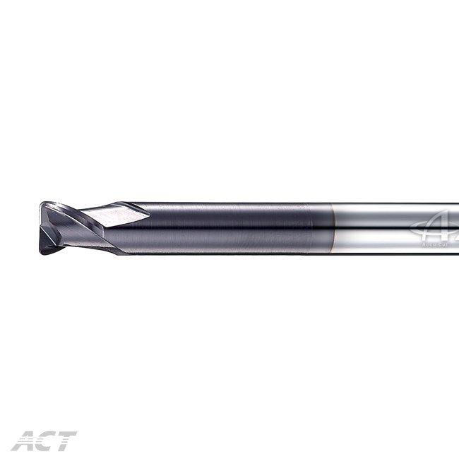 (S2NUBL) 2刃高硬度長柄深溝圓鼻刀