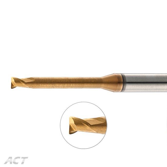 (SX2NUBL) 2刃高硬度&高轉速長柄深溝圓鼻刀 - 熱處理加工