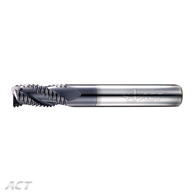 (I3KER) 3刃粗銑刀 - 中齒