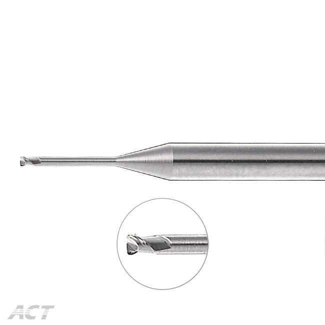 (A2NUB) 2刃鋁用深溝圓鼻刀
