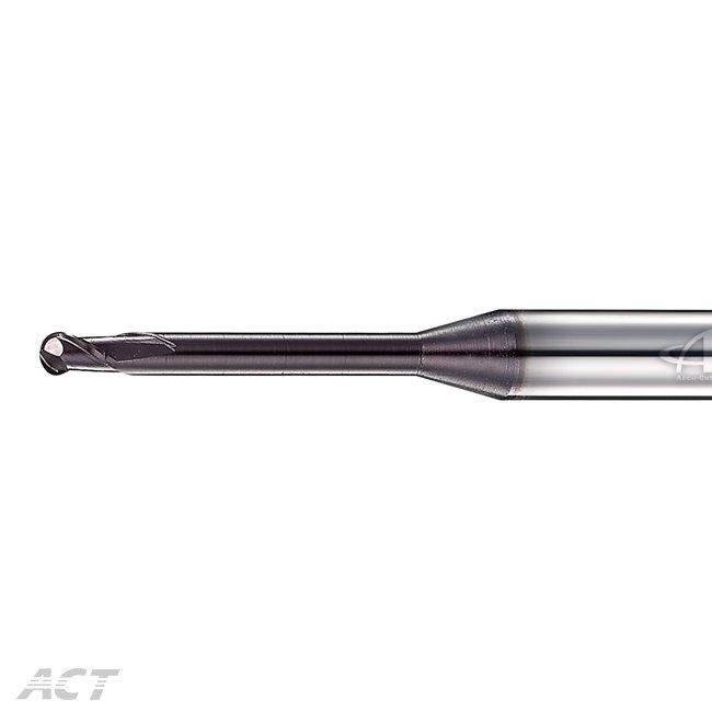 (S2KUBL) 2刃高硬度長柄深溝球刀