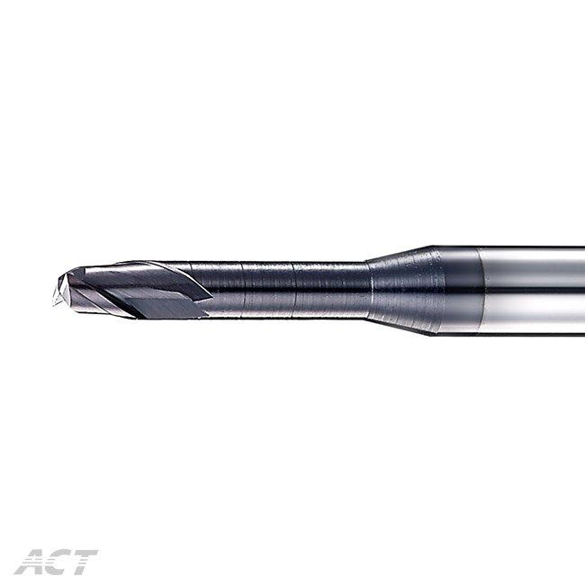 (S2KUE) 2刃高硬度深溝平刀