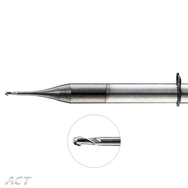 (G2KUB) 醫療專用 - 2刃深溝球刀 - 含扣環